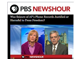 PBS newshour with David Schluz